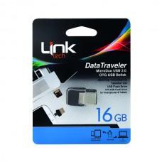 16GB Micro OTG Dual USB Bellek
