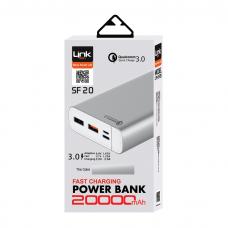 SF20 20.000mAh Quick Charge 3.0 Type-C&Micro Çift Çıkış
