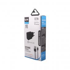 C503 Safe Micro USB Ev Şarj Cihazı 2.1A Çift Çıkışlı