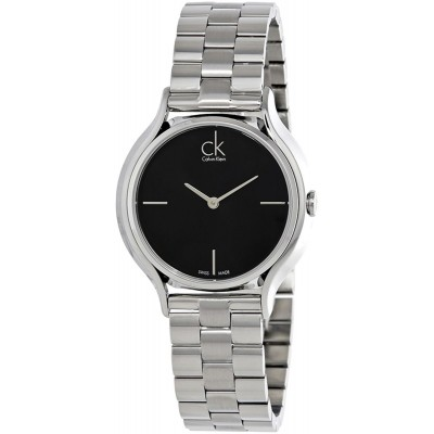 Calvin Klein Casual Watch For Women Analog Leather