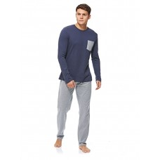 OVS Sleepwear Set for Men - Blue