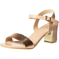 Baldi London Keshia Wedges for Women, Beige