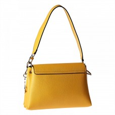 Guess Flap Bag For Women, Yellow