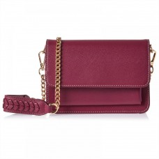 Elle Crossbody Bag for Women - Red