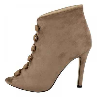Kidderminster heel black - women