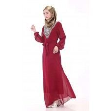 MENGSHUYUE Casual Abaya For Women