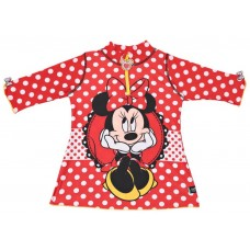 Disney Minnie Mouse 34-Mm7003P T-Shirt For Girls - 4 To 6 Years, Red